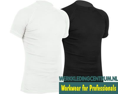 Thermoshirt Avento Korte Mouw Wit